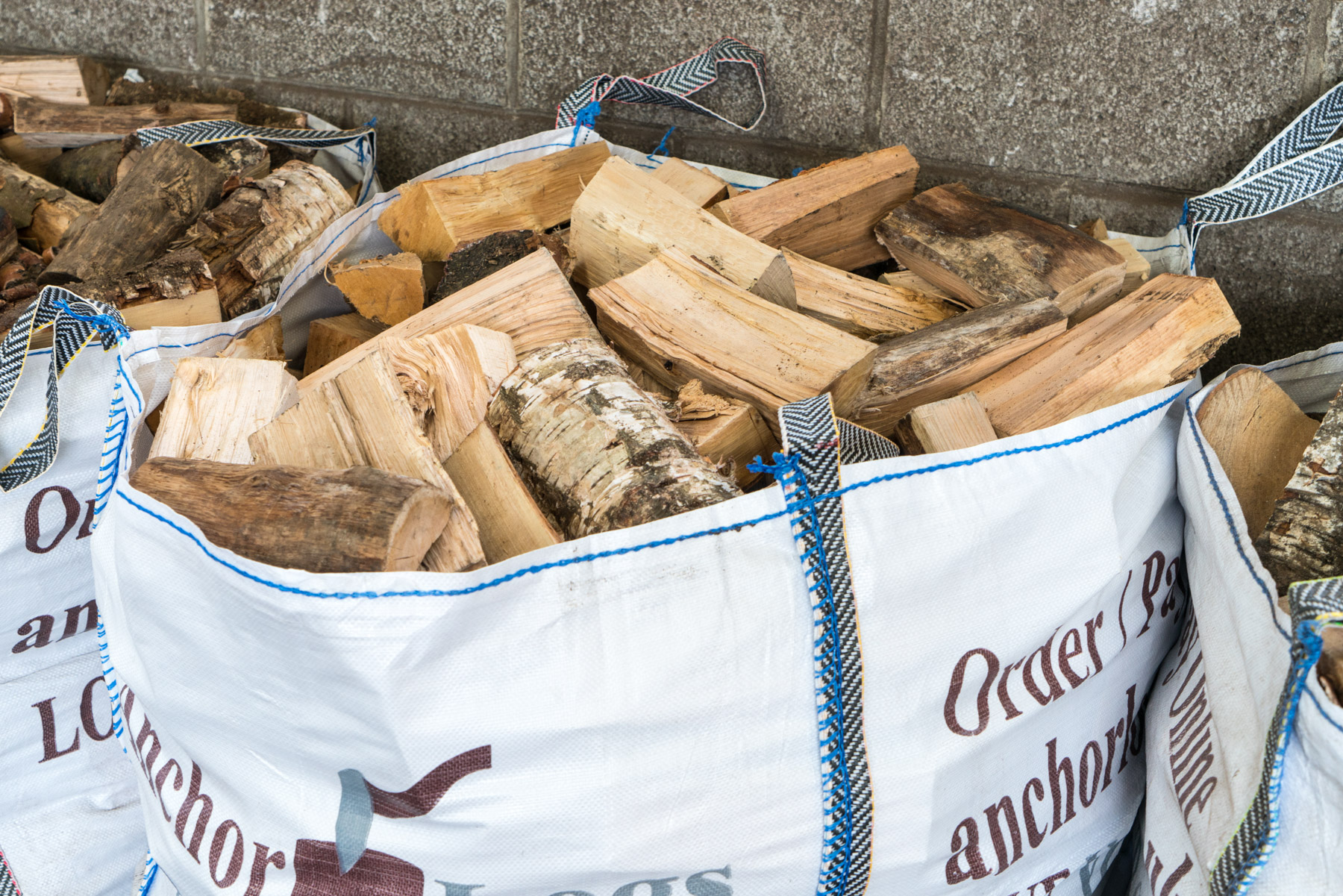 Large Dumpy Bag: Kiln Dried Mixed Hardwoods